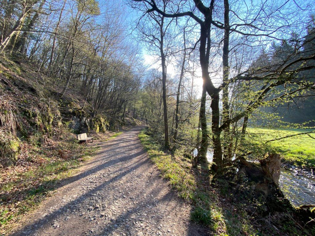 Wanderung durch das Eifgenbachtal - Walk and Wonder