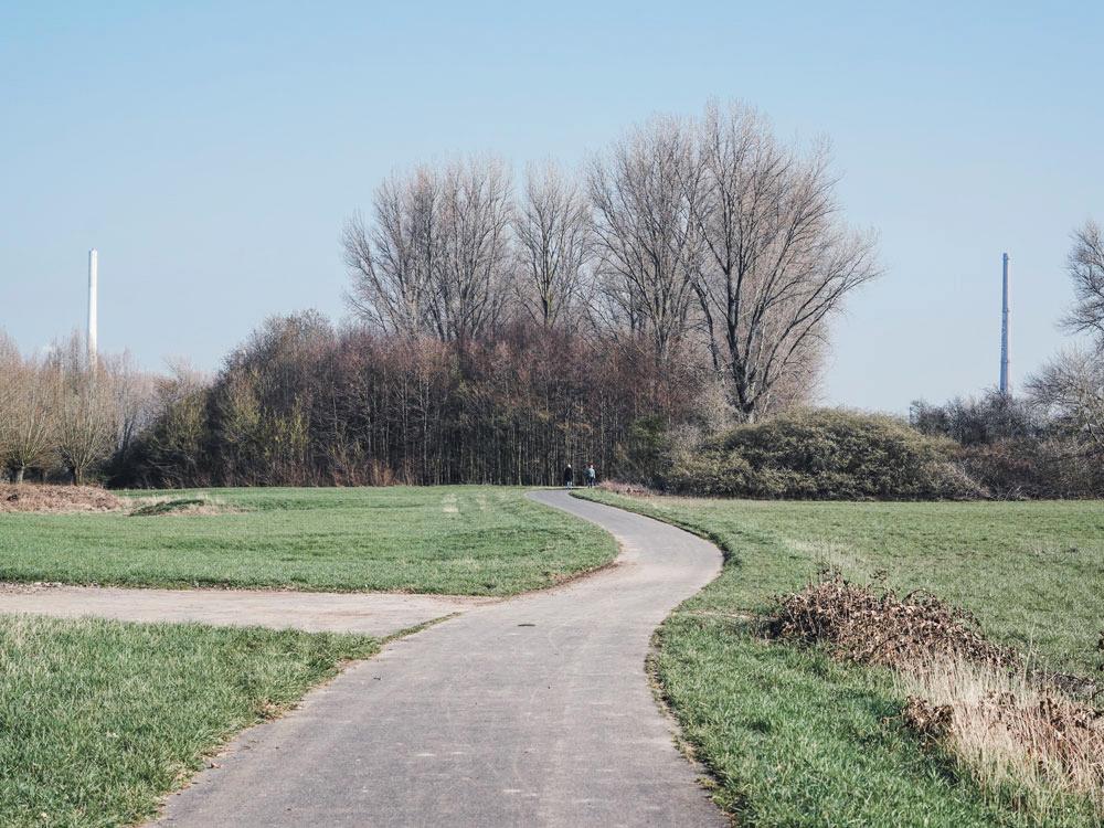 Flittarder Rheinaue - Walk and Wonder