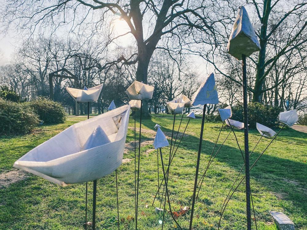 Schlosspark Stammheim Kunstinstallationen - Walk and Wonder