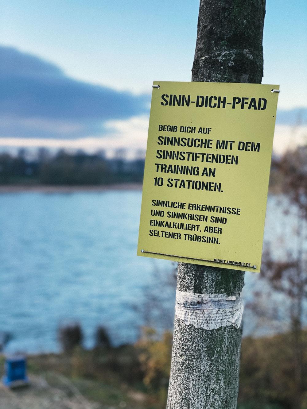 Schlosspark Stammheim - Sinn-dich-Pfad - Walk and Wonder
