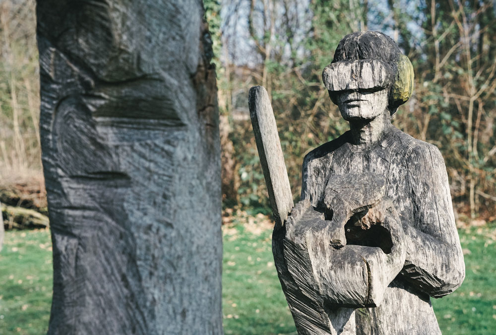 Schlosspark Stammheim - Holz Skulpturen - Walk & Wonder