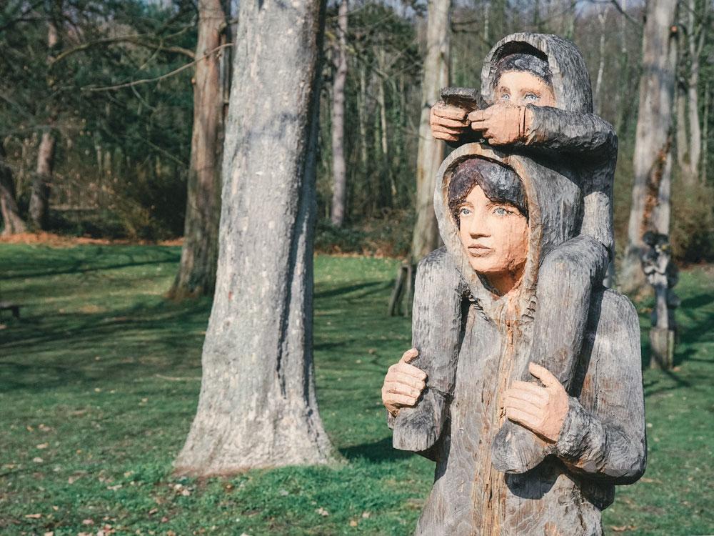 Schlosspark Stammheim - Kunstausstellung - Walk & Wonder