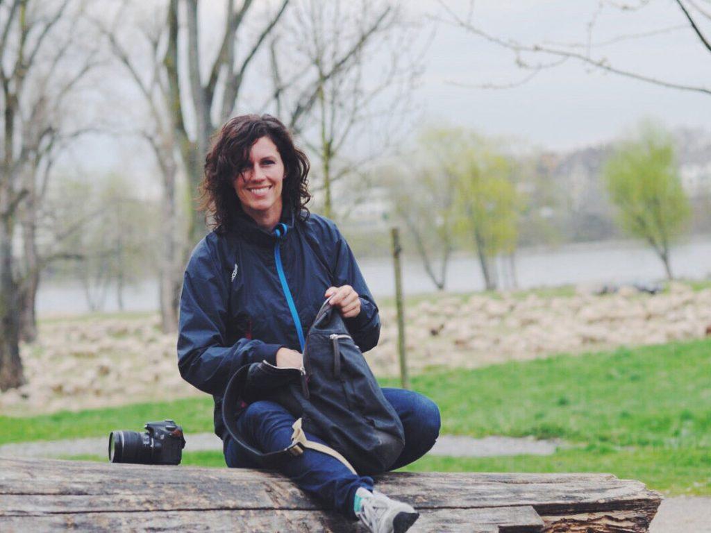 """Ute Kranz mit ihrem Blog """"Walk & Wonder"""""""